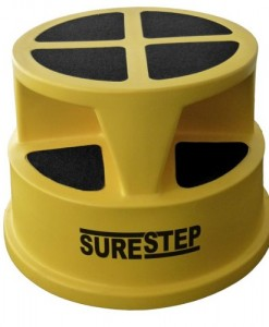 SURESTEP SAFETY STEP ROUND WITH CASTORS SRC (2)