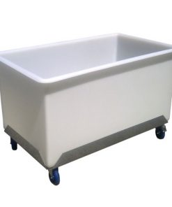 litre straight-sided rectangular tub trolley (SRT650)