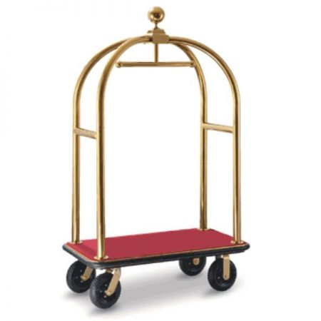 Birdcage Luggage Trolley titanium