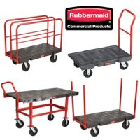 Rubbermaid Platform Trolleys