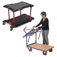Multipurposes Flatbed Trolleys