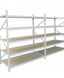 Longspan Shelving_double bay