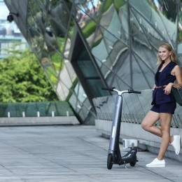 LEHE L1 Foldable E-scooter 02