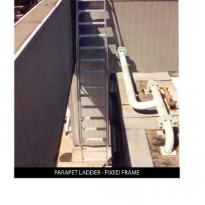 Custom_PARAPET-LADDER-FIXED-FRAME
