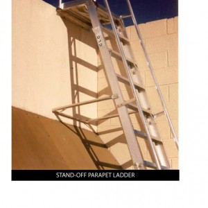 Custom_STAND-OFF-PARAPET-LADDER